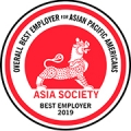 Asia Society Best Employer 2019: Overall Best Employer for Asian Pacific Americans