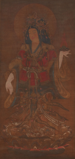 Lakshmi (Kichijoten). Japan. Possibly Meiji Period (1868–1912).