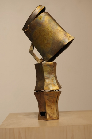 'Ewer,' 2020, Bronze with patina, Courtesy of the artist