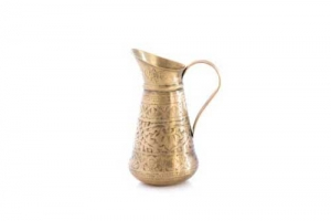 Jug Brass Hand Etched AsiaStore