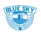 Blue Sky Surveying and Mapping Logo