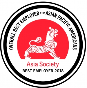 2018 Best Employer for Asian Pacific Americans Medal