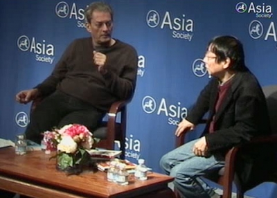 Paul Auster and Motoyuki Shibata assess which kinds of writers survive translation and which don't, in New York on December 7, 2010. (1 min., 28 sec.)