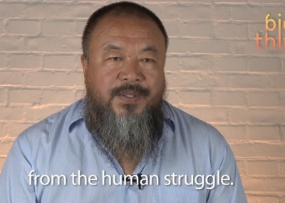 In the first video posted on his new blog, Ai Weiwei speaks on the role of digital media in today's China. (YouTube)