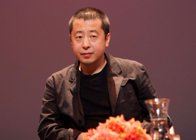 Director and screenwriter Jia Zhangke at Asia Society New York on Sept. 30, 2013. (Yunfan Sun)