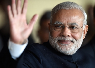 Indian Prime Minister Narendra Modi. (Evaristo Sa/Getty Images)
