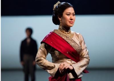 Ruthie Ann Miles in a scene from Lincoln Center Theater's production of Rodgers & Hammerstein's The King and I. (Paul Kolnik)