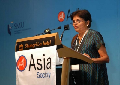 Asia Society President Vishakha Desai at the 2007 Asia 21 Young Leaders Summit.