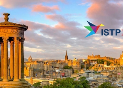 Edinburgh with the ISTP 2017 logo