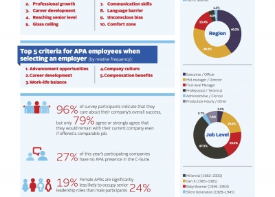 Infographic: 2017 Asian Pacific Americans Corporate Survey