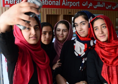 The Afghan Girls' Robotics Team