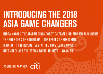 Asia Game Changers 2018
