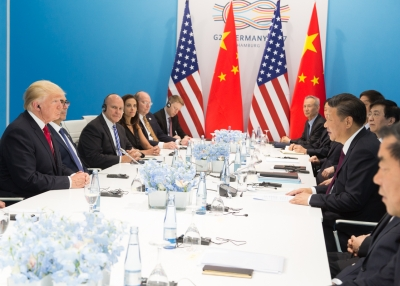 Donald J. Trump and Xi Jinping at the G20 Summit