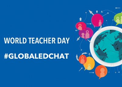 World Teacher Day - #GlobalEdChat