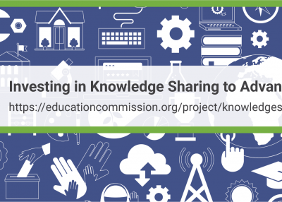 Investing in Knowledge Sharing to Advance SDG 4