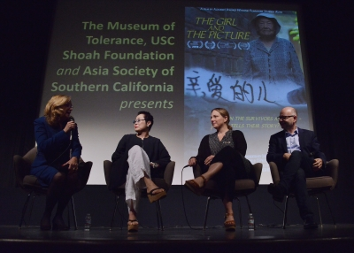 'The Girl and the Picture'  panel