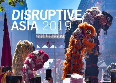 Disruptive Asia 2019 China Mock Cover