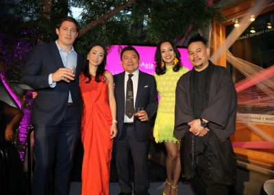 Asia in America honorees with Boon Hui Tan and Thomas Beraud-Sudreau
