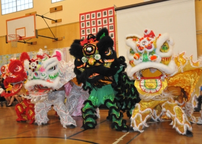 CLIP Graduation: Lion Dance