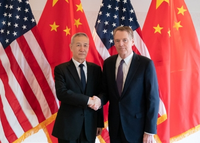 Lighthizer and Liu He meet in April 2019