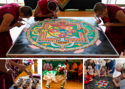 Mystical Arts of Tibet 2019 collage
