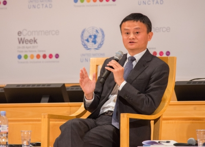 Jack Ma speaking at UNCTAD eCommerce Week Conference, 25 April 2017