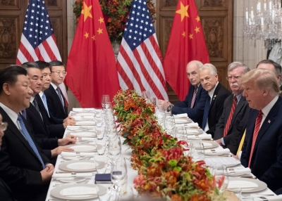 US and China G20 Delegations 2018