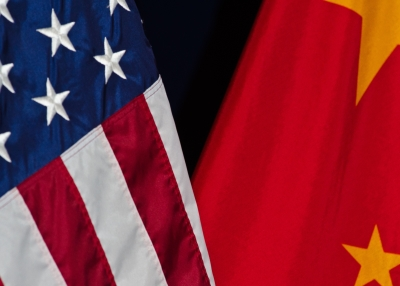 US China Flag