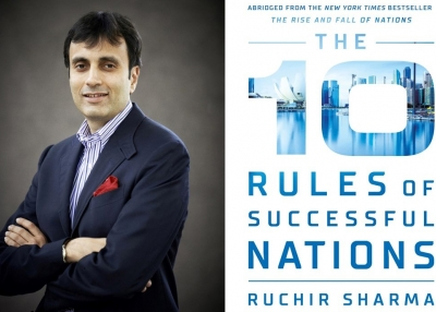 Ruchir Sharma and 10 Rules of Successful Nations Book Cover