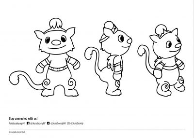 Coloring Sheet Baby Leos