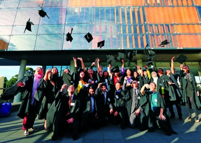Looking Ahead - Universities - University of Sydney graduation