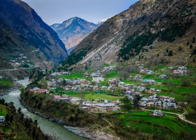 Neelum Valley in Kashmir