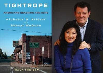 Nick Kristof and Sheryl WuDunn