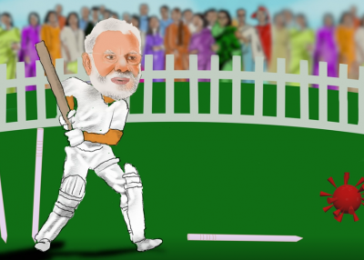 2020 - 6 - Modi Cricket and COVID still