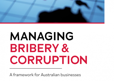 Asia Taskforce Discussion paper 'Managing Bribery and Corruption' thumb