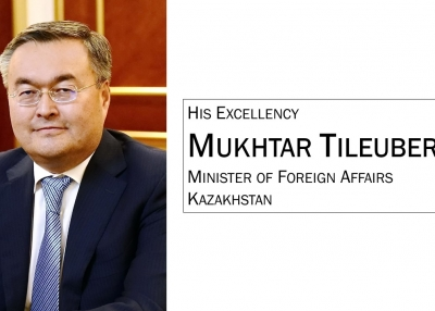 Minister of Foreign Affairs Mukthar Tileuberdi