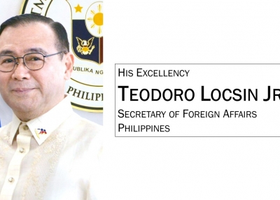 Secretary of Foreign Affairs Teodoro Locsin Jr.
