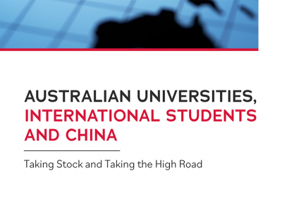 Asia Taskforce Discussion Paper 'Australian universities, international students and China' thumb