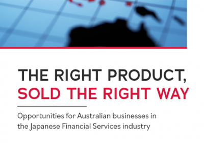 Asia Taskforce Discussion Paper 'The Right Product Sold the Right Way' cover