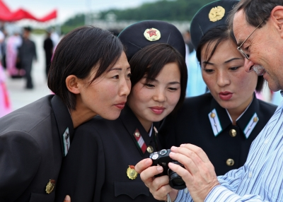 North Korean women in 2010