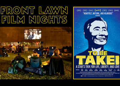 Front Lawn Film Nights To Be Takei