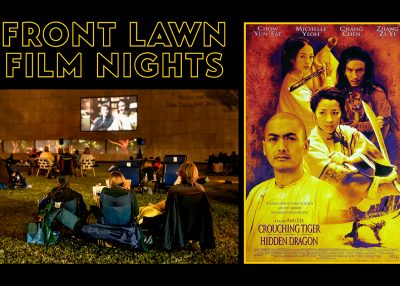 Front Lawn Film Nights Crouching Tiger Hidden Dragon