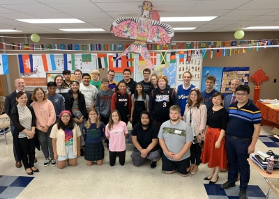 Students from Sister School in China visit Logansport High School