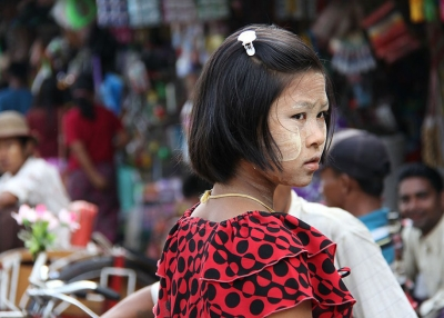 Myanmar girl - Syed Shameel - Flickr