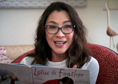 Michelle Yeoh Lotus & Feather