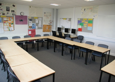 A classroom at Gloucestershire College. (James F Clay/Flickr)