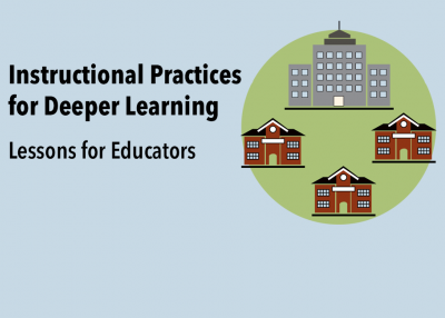 Instructional Practices for Deeper Learning: Lessons for Educators