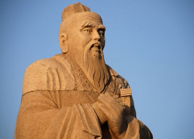 Statue of Confucius in Yueyang, China. (Steve Webel/flickr)