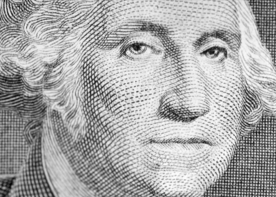 George Washington on a dollar bill (shyb/Flickr)