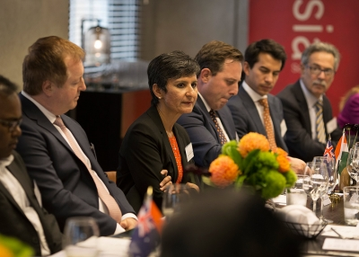Australian High Commissioner to India Ms Harinder Sidhu - Ellis Cowan/Asia Society Australia